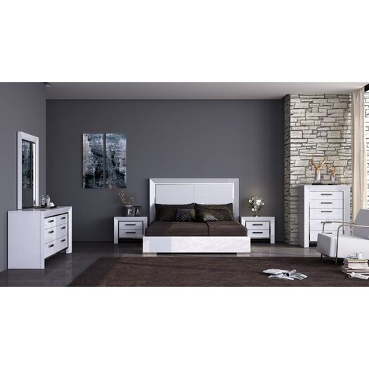 Whiteline Imports Ibiza 2 Drawer Nightstand