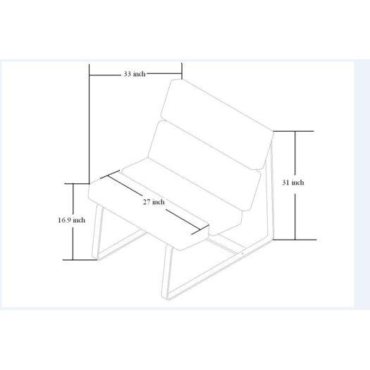 Whiteline Imports Angel Side Chair