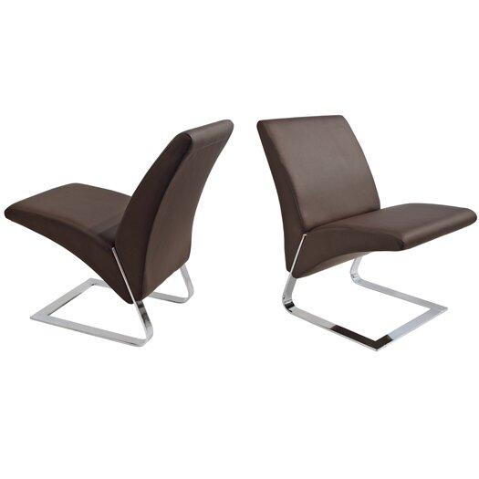 Whiteline Imports Fog Chair (Set of 2)
