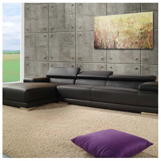 Whiteline Imports Melody Sectional Chaise