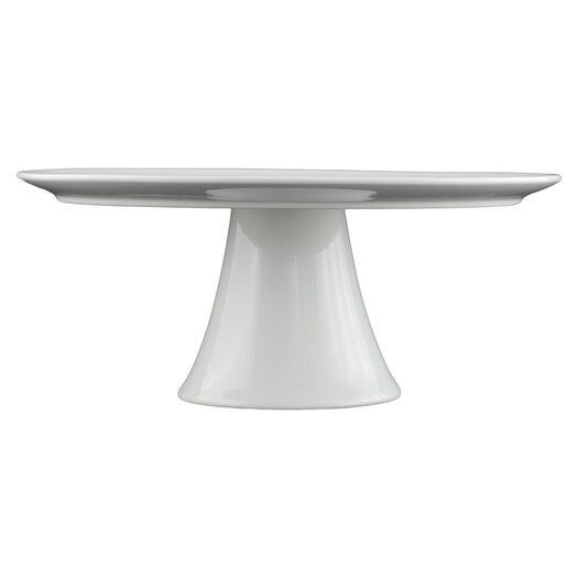 Tannex White Tie Round Pedestal Cake Stand