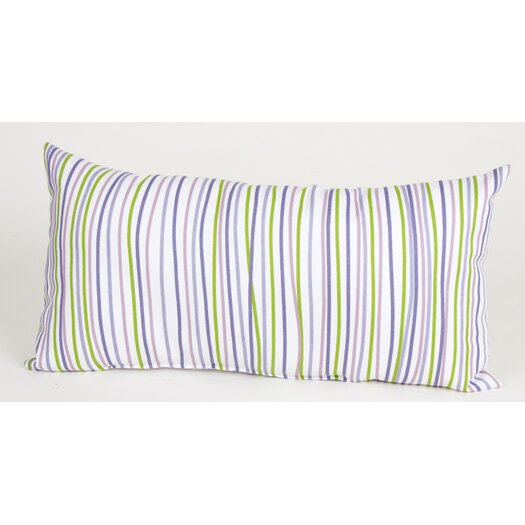 Sweet Potato by Glenna Jean LuLu Rectangular Pillow with Stripes