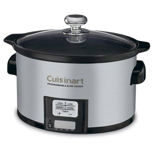 Cuisinart 3.5 Qt Programmable Slow Cooker
