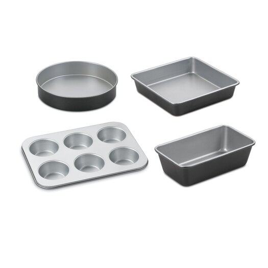 Cuisinart Chef's Classic Stainless Steel 4-Piece Bakeware Set