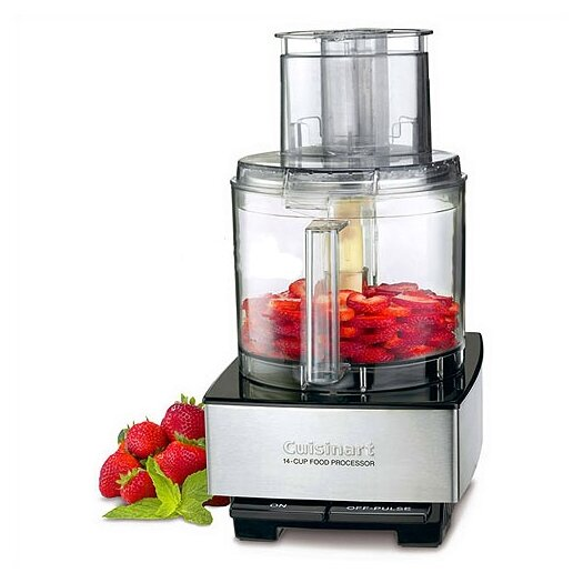 Cuisinart 14 Cup Food Processor in Brushed Stainless Steel