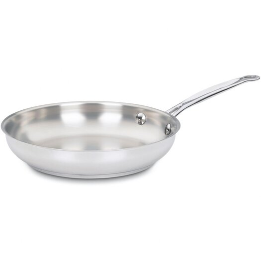 """Cuisinart Chef's Classic Stainless Steel 9"""" Skillet"""