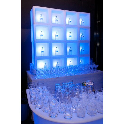 """Slide Design Open Cube 28.8"""" H Table Lamp"""
