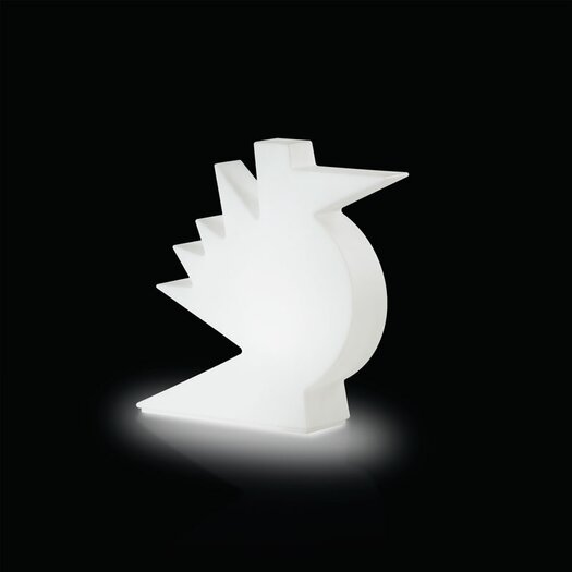 "Slide Design Here 19.7"" H Table Lamp"