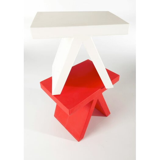 Slide Design Toy End Table / Chair
