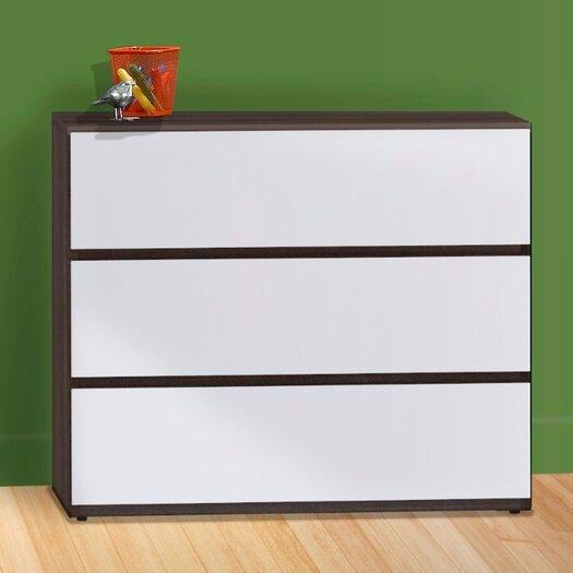 Nexera Atom 3 Drawer Dresser