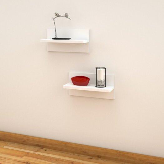 Nexera Liber-T Wall Shelf