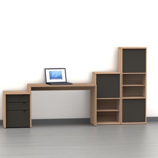 Nexera Infini-T 3-Drawer File Cabinet