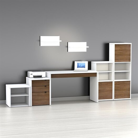 Nexera Liber-T 3-Drawer File Cabinet