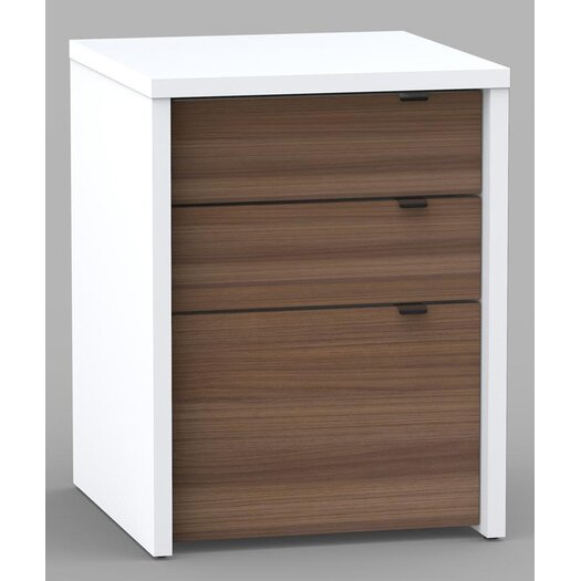 Nexera Liber-T 3 Drawer Writing Desk