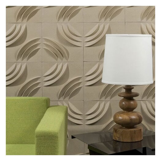 Mio Culture PaperForms Embossed 12 Piece Wallpaper Tiles