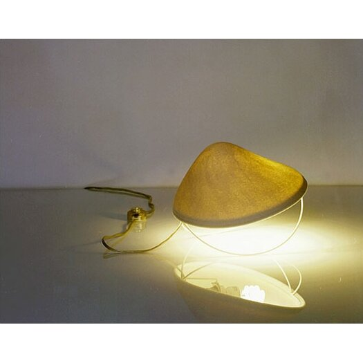 """Mio Culture Lighting Shroom 8"""" H Table Lamp with Bowl Shade"""