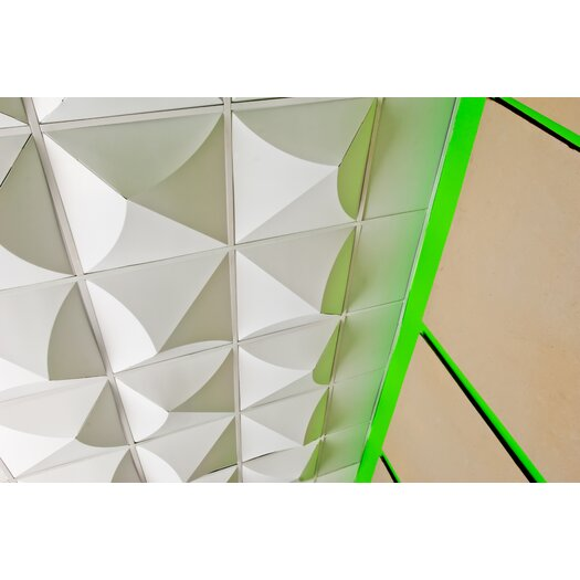 Mio Culture FoldScapes Bloom Drop Ceiling Tiles (24 Pack)