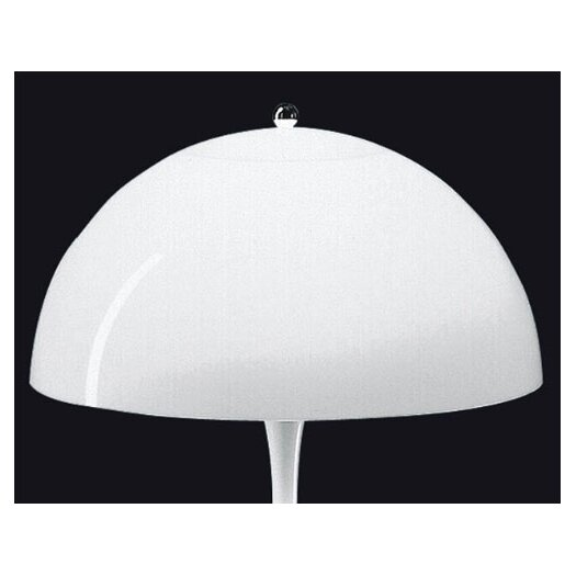 "Louis Poulsen Panthella 22.8"" H Table Lamp with Bowl Shade"