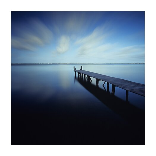iCanvas 'Muelle Azul Crop' by Moises levy Photographic Print on Canvas