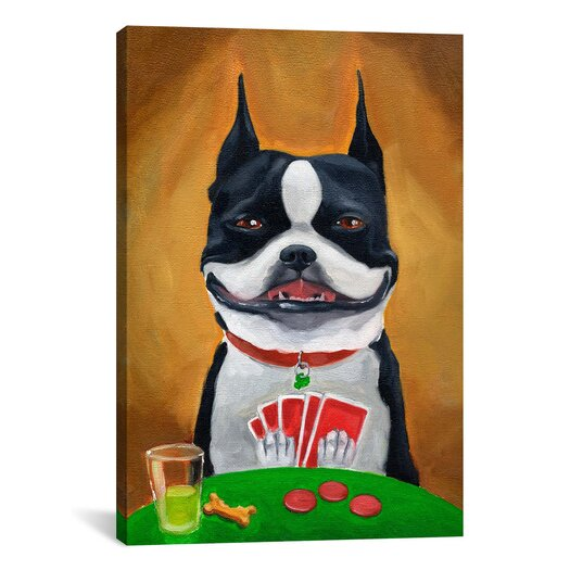 iCanvas 'BT Poker' by Brian Rubenacker Painting Print on Canvas