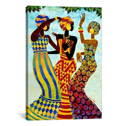 iCanvas Celebration by Keith Mallett Graphic Art on Canvas