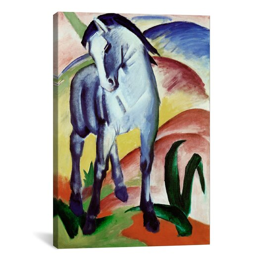 iCanvas 'Blue Horse' by Franz Marc Painting Print on Canvas