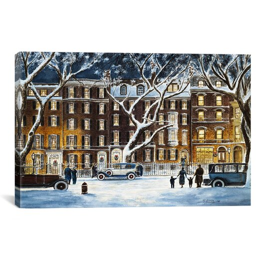 iCanvas 'Beacon Street, Ma 1926' by Stanton Manolakas Painting Print on Canvas