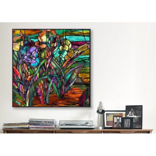 "iCanvas ""Candy Coated Irises"" Canvas Wall Art by Mindy Sommers"