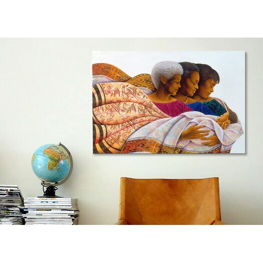iCanvas 'Circle of Life' by Keith Mallett Graphic Art on Canvas
