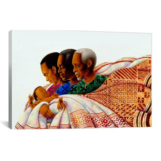 iCanvas 'Circle of Pride' by Keith Mallett Graphic Art on Canvas