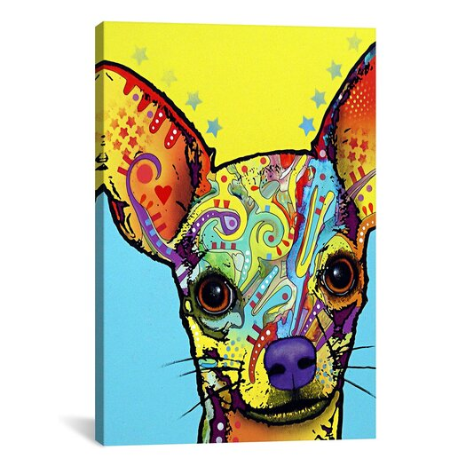 iCanvas Chihuahua l by Dean Russo Graphic Art on Canvas