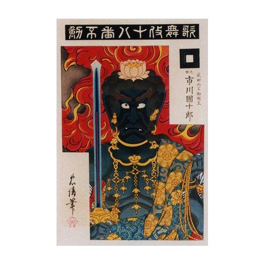 iCanvas Acala (fudo) Japanese Woodblock Graphic Art on Canvas