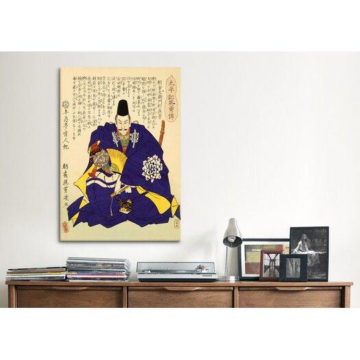 iCanvas Japanese Art 'Asakura' by Utagawa Kuniyoshi Painting Print on Canvas