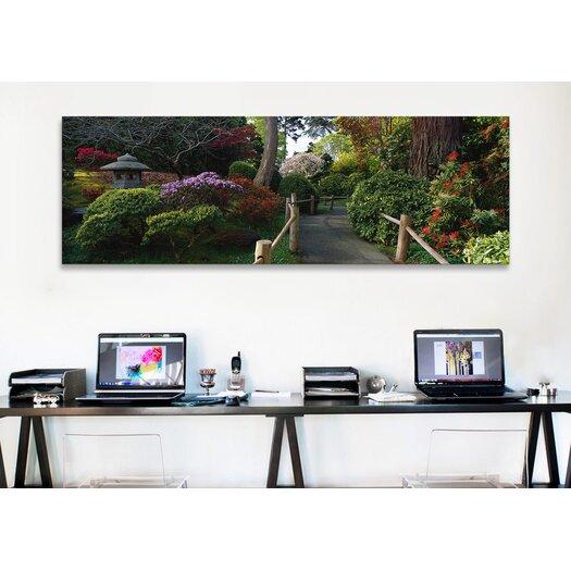 iCanvas Panoramic Japanese Tea Garden, San Francisco, California Photographic Print on Canvas