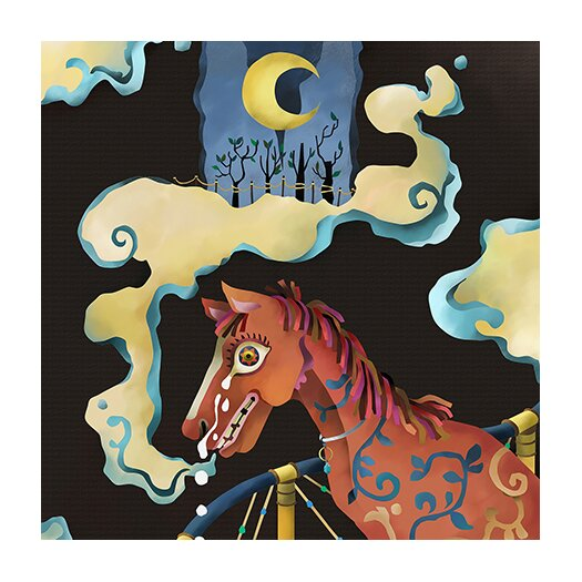 "iCanvas ""Horse"" Canvas Wall Art by Youchan"