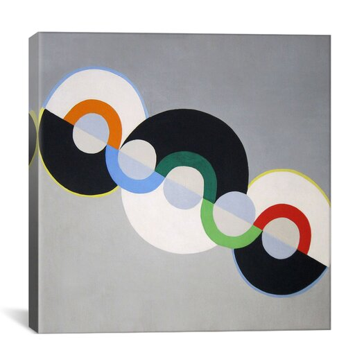 iCanvas 'Endless Rhythm' by Robert Delaunay Graphic Art on Canvas