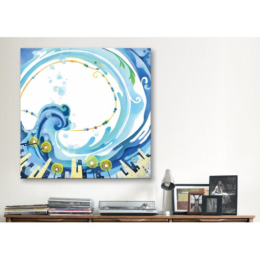 "iCanvas ""Graces"" Canvas Wall Art by Youchan"