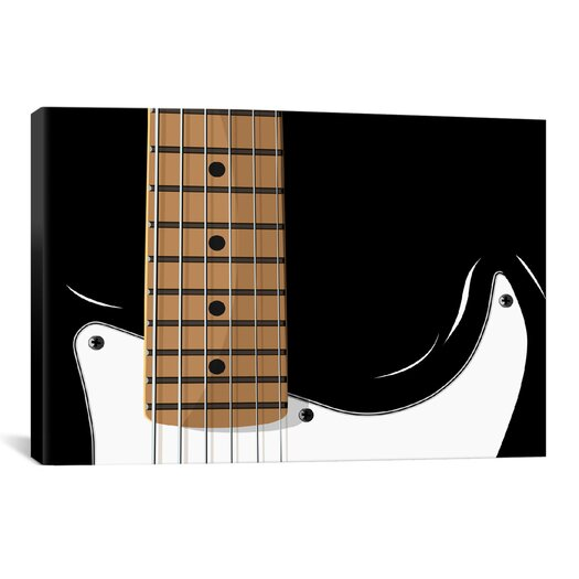 iCanvas 'Electric Guitar' by Michael Tompsett Graphic Art on Canvas