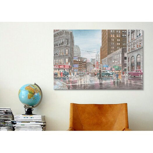 iCanvasArt 'Crossing' by Stanton Manolakas Painting Print on Canvas