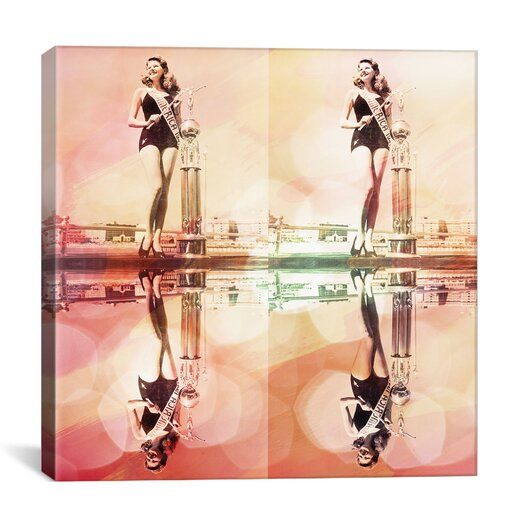 iCanvas Miss America 1941 Trophy Reflection Graphic Art on Canvas