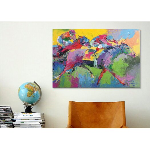 iCanvas 'Furlong' by Richard Wallich Painting Print on Canvas