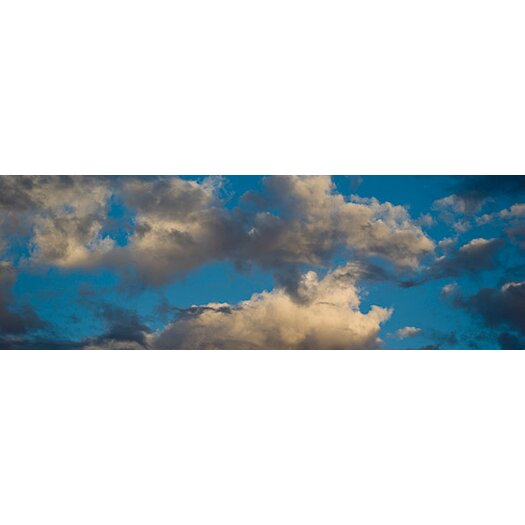 iCanvas Panoramic Clouds in the Sky Los Angeles, California Photographic Print on Canvas