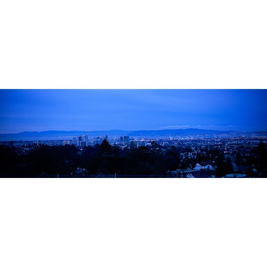 iCanvas Panoramic High Angle View of Buildings in a City, Oakland, California Photographic Print on Canvas
