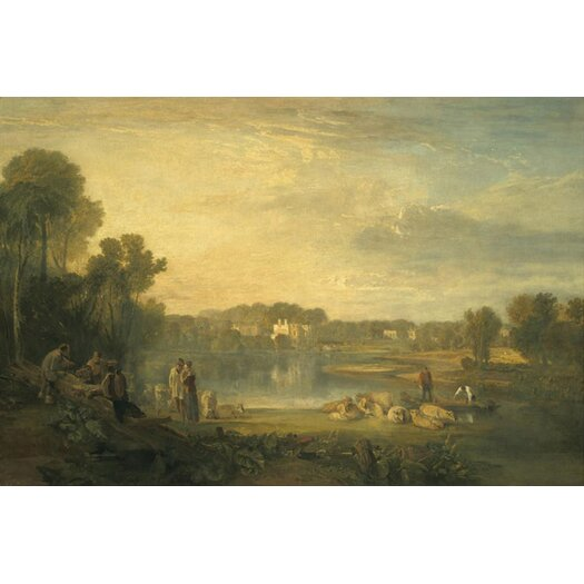 iCanvas 'Pope's Villa at Twickenham' by Jospeh William Turner Painting Print on Canvas