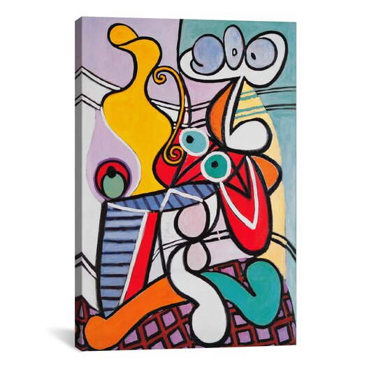 iCanvasArt 'Nude and Still Life' by Pablo Picasso Painting Print on Canvas