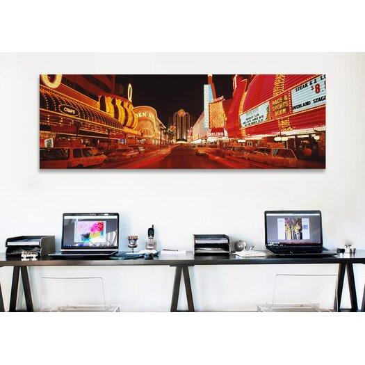 iCanvas Panoramic 'Las Vegas Nevada' Photographic Print on Canvas