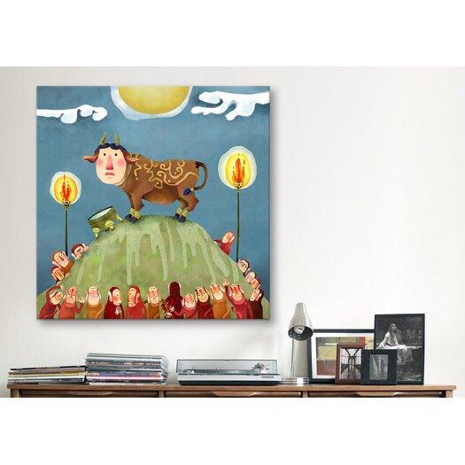 "iCanvas ""Kudan"" Canvas Wall Art by Youchan"