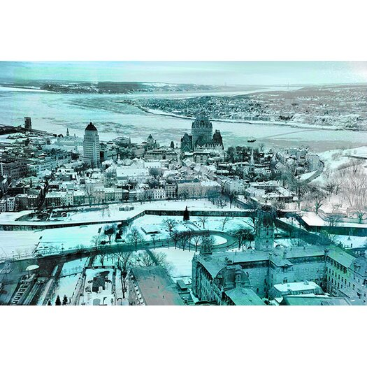 iCanvas Quebec City, Lower Town Canada #3 Photographic Print on Canvas