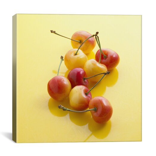 iCanvas Rainier Cherries Photographic Canvas Wall Art