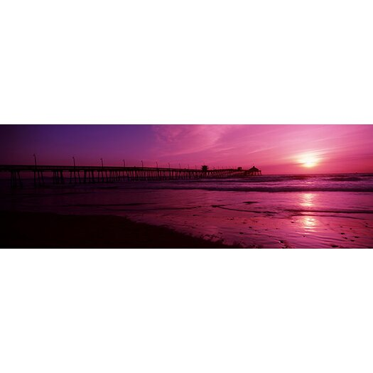 iCanvas Panoramic San Diego Pier, San Diego, California Photographic Print on Canvas